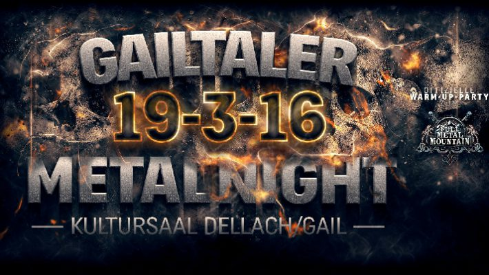 Gailtaler Metal Night 2016