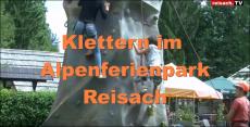 Klettern im Alpenferienpark Reisach