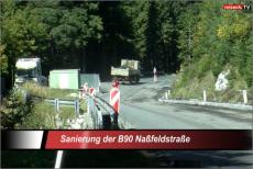 Naßfeldstraße B90 wird saniert