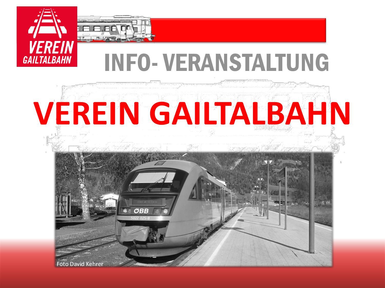 Präsentation Verein Gailtalbahn