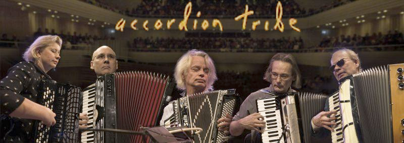 Accordion tribe. Music travels